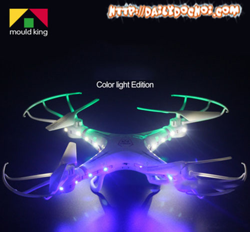 M127 máy bay Quadcopter cỡ trung giá rẻ Super A phiên bản đèn del