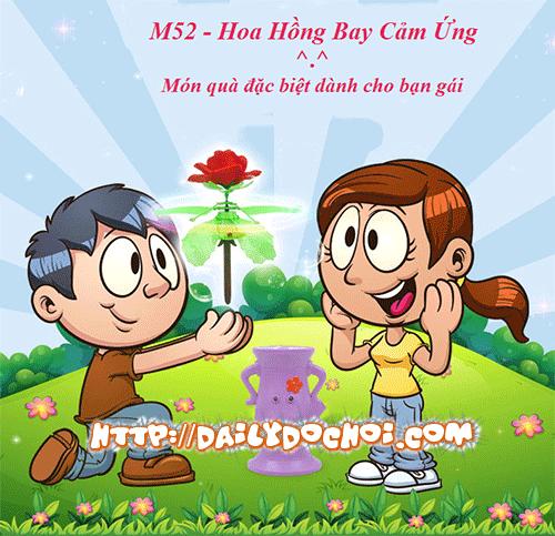 M52 Hoa Hồng Bay Cảm Ứng