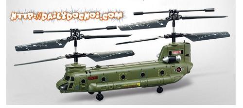 M60 máy bay quân sự hình con tàu gắm thêm 4 bánh nhỏ