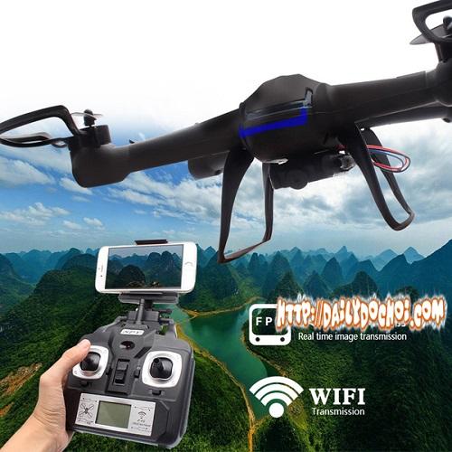 M94 máy bay quad camera truyền FPV về điện thoại