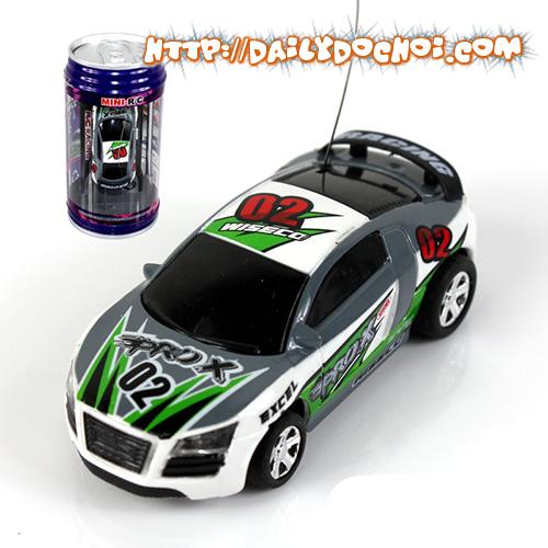 OT14 - Ô tô mini đựng trong lon Cocacola
