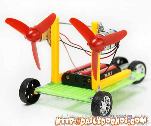 OT23 - Mô hình xe ô tô tự lắp ghép 2 động cơ