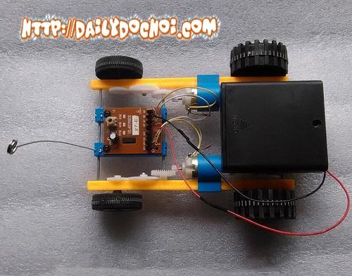 OT42 -  Bộ linh kiện đầy đủ chế tạo hoàn chỉnh ô tô điều khiển từ xa