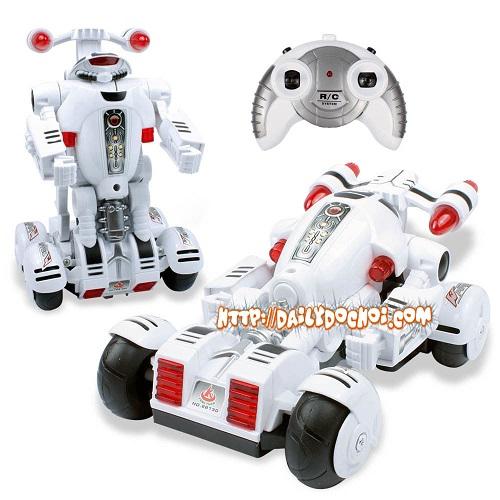 OT7 oto lắp ráp thành robot 4 bánh