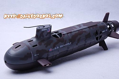 T22 - Tàu ngầm quân sự điều khiển từ xa dài 35cm