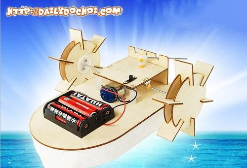 T8 - Thuyền bằng gỗ tự lắp ghép chế tạo đơn giản