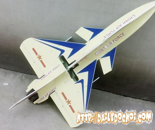 V4 vỏ xốp chết tạo máy bay J-10KT